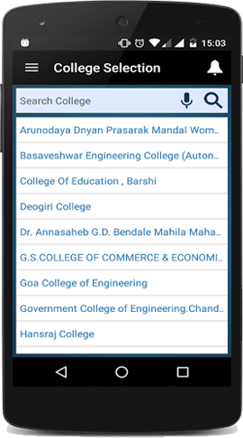 MOPAC - College list