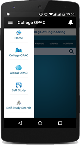 library management app - mopac