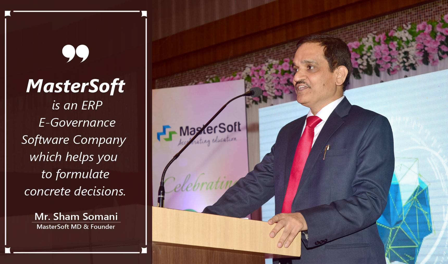 MasterSoft MD Mr. Sham Somani