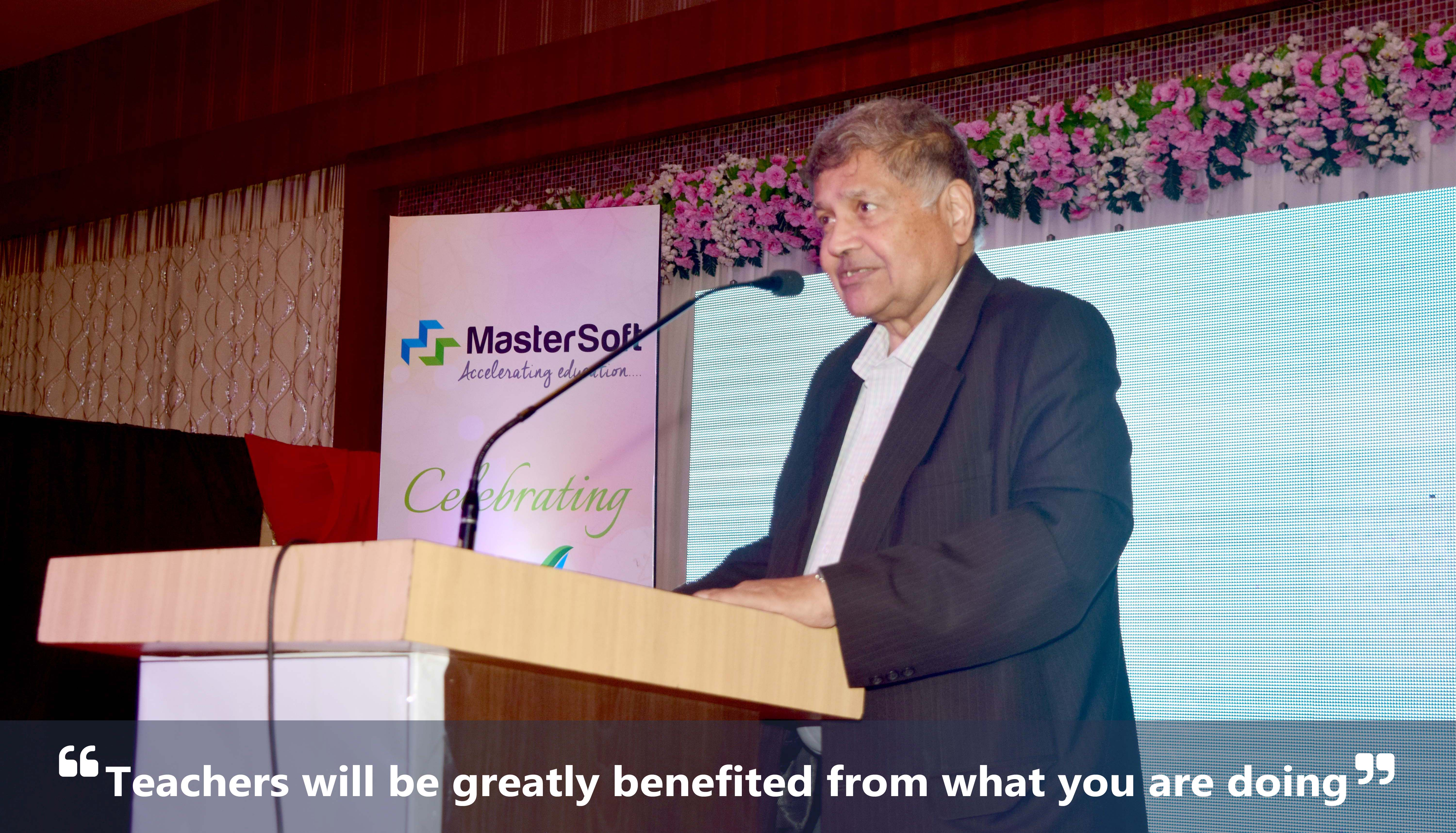 Dr. R. Natarajan at MasterSoft Annual Function