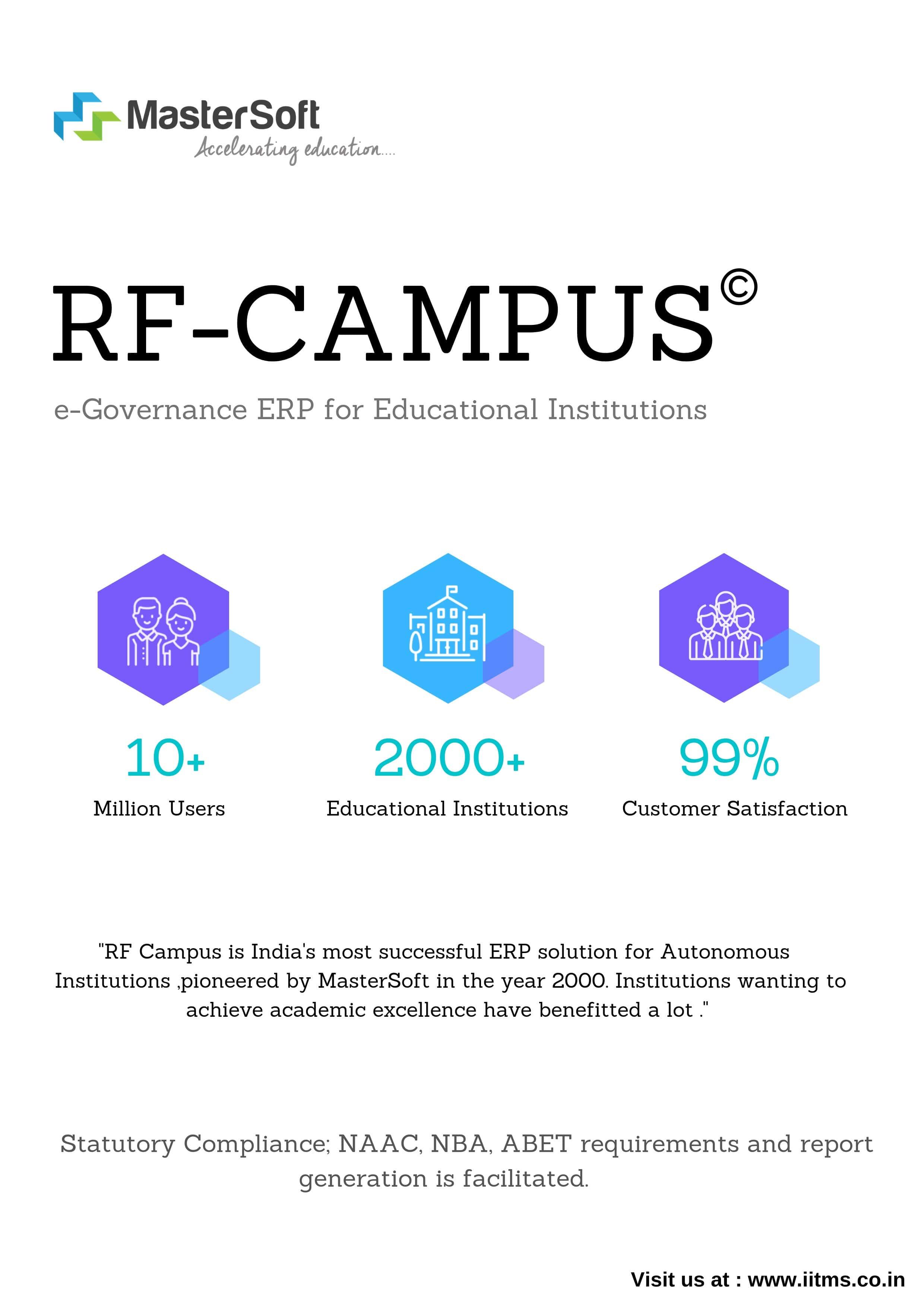 Campus Management Software | RF Campus - ERP Higher